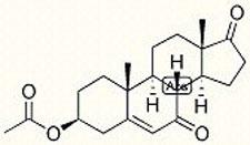 the DHEA molecule
