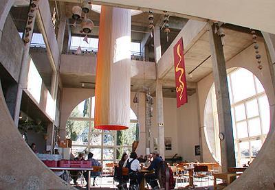 The Arcosanti Cafe