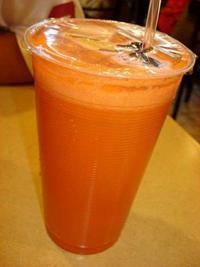 The Carrot Milk Shake