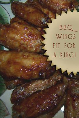 BBQ Chicken Wings.