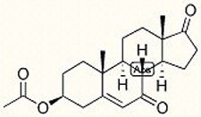 the DHEA molecule