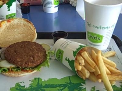 Evo's Healthy Burger and Airfries
